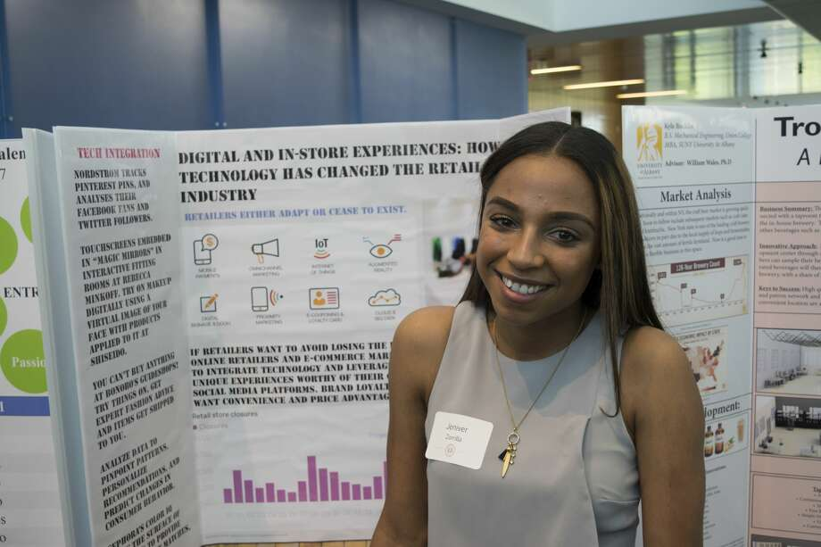 Were you seen at the 15th Annual Evening MBA Research Forum on Thursday, May 11, at the University at Albany? Photo: Trevor Attias