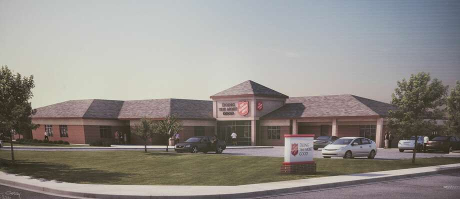 Artist drawing of the new Salvation Army being built in Midland. 5/11/17  Tim Fischer/Reporter-Telegram Photo: Tim Fischer/Midland Reporter-Telegram
