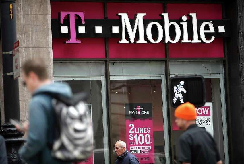No. 8: T-Mobile telecommunication company