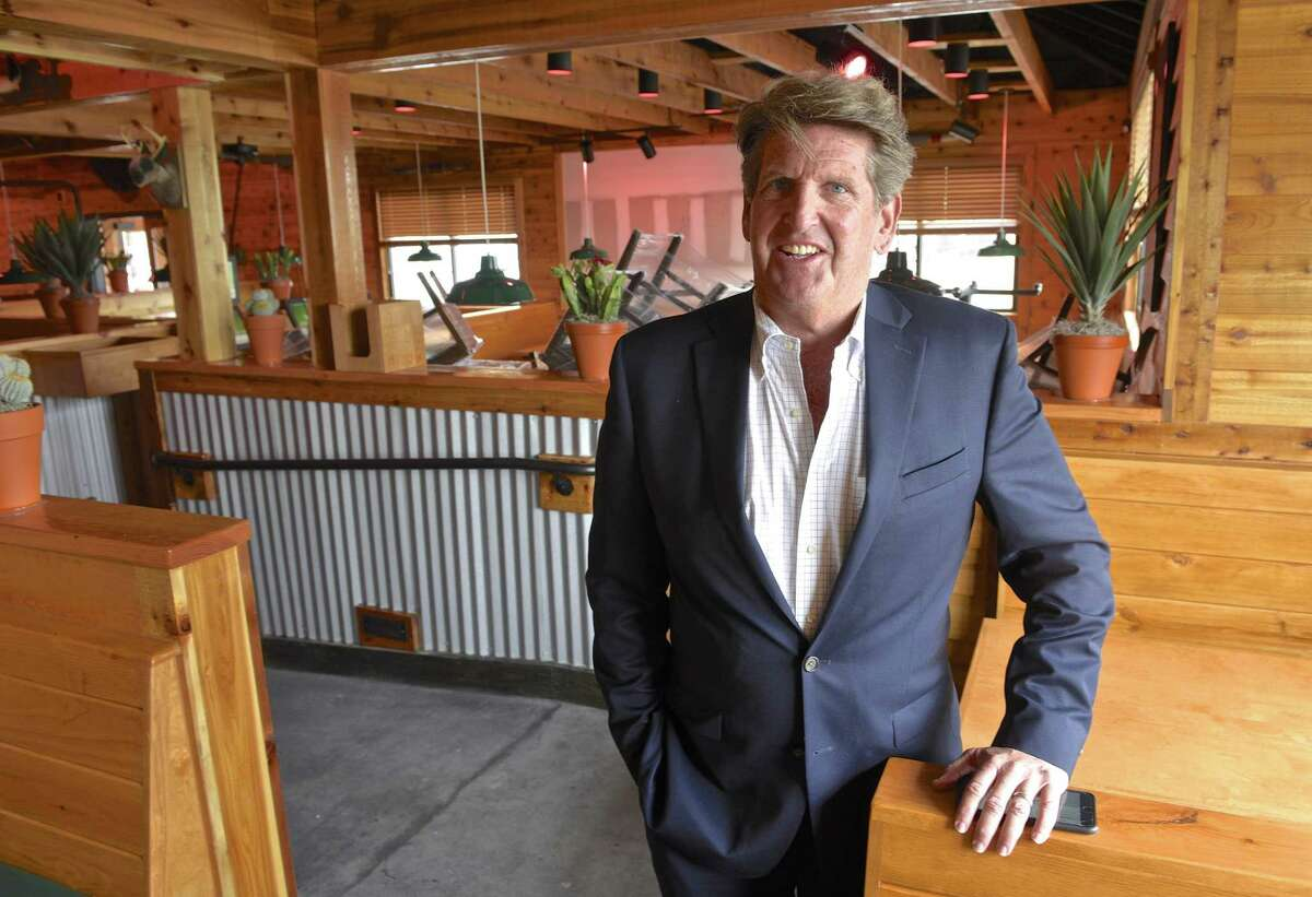 Developer Felix Charney in the Texas Roadhouse restaurant which is part of his new development on Newtown Road, in Danbury, Conn, on Thursday, May 11, 2017.