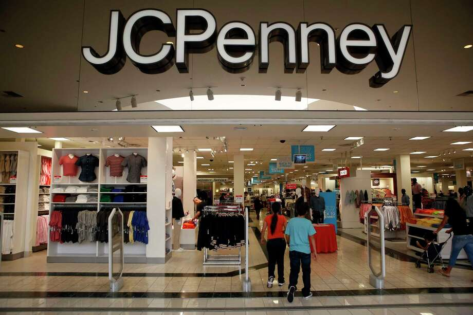 Customers shop at the J.C. Penny Co. store inside the Glendale Galleria shopping center in Glendale on Friday, August 16, 2013. On Friday morning, the company followed Macy's, Kohl's and Dillard's in reporting declining sales in the second quarter. J.C. Penney also posted a deeper loss than analysts expected -- hurt by clearance sales -- sending the shares down as much as 17 percent in early trading. Photo: Patrick T. Fallon / © 2013 Bloomberg Finance LP