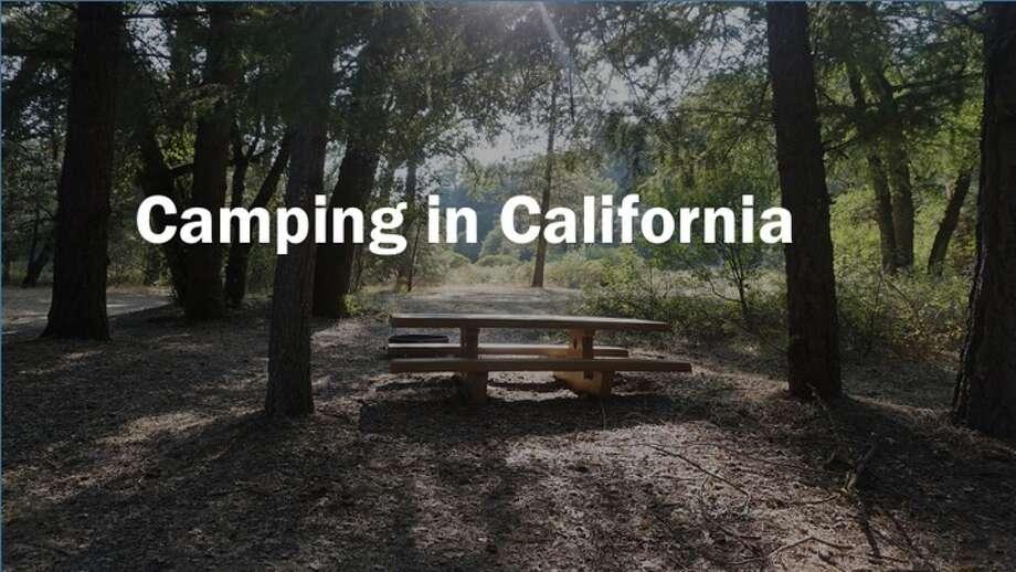 Camping in California Photo: Andy Murdock