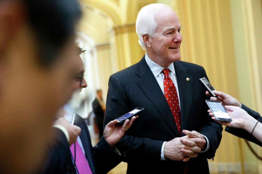 Senate Majority Whip John Cornyn of Texas is under consideration for FBI Director.  Photo: Jacquelyn Martin, STF / Copyright 2017 The Associated Press. All rights reserved.