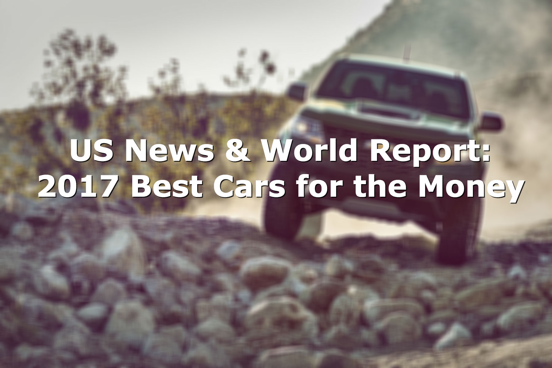 US News & World Report: 2017 Best Cars for the Money