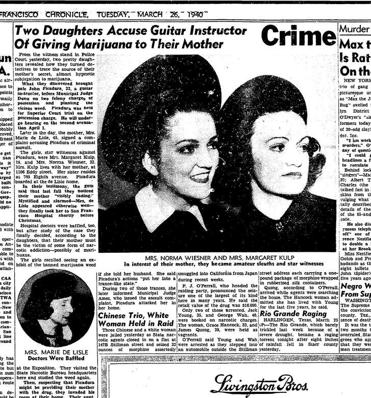 Chronicle, March 27, 1940