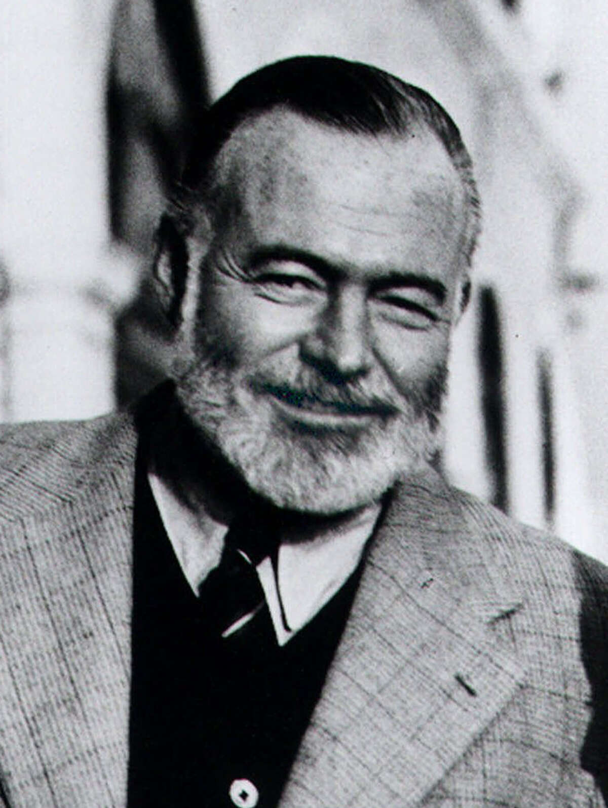 From top: Ernest Hemingway was a