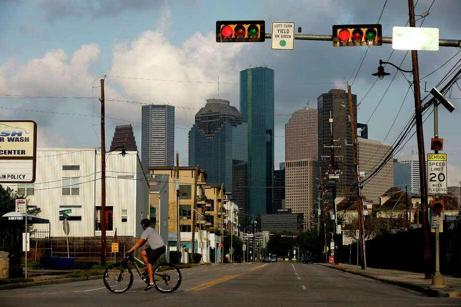 View of downtown from the Fourth Ward on March 26, 2017 in Houston, Texas. Houston has become the most diverse city in the nation. Photo: Gary Coronado, TNS / Los Angeles Times