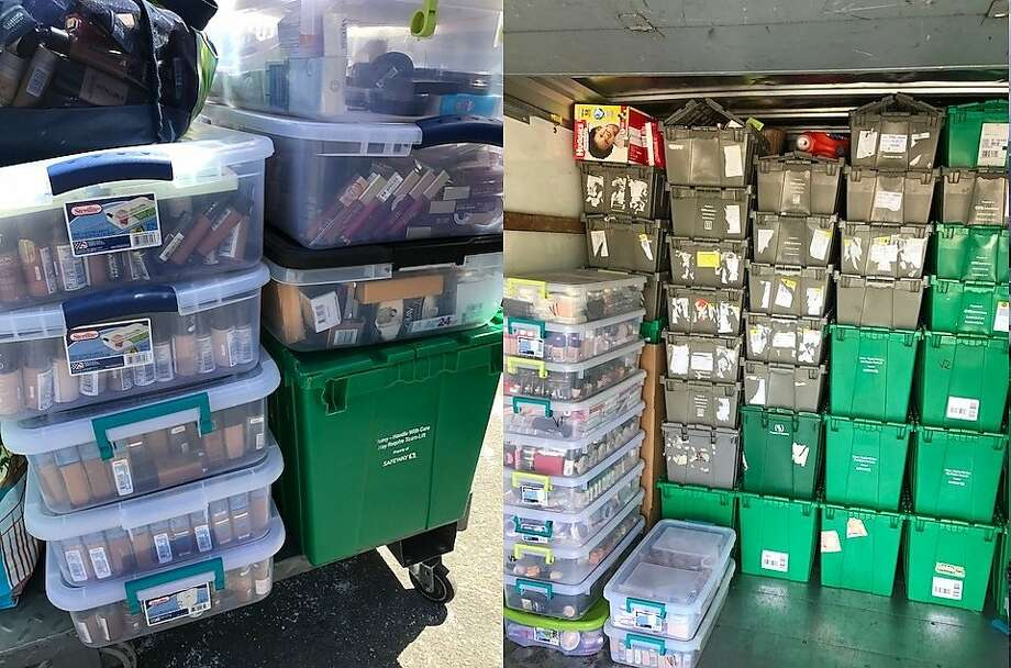 Police recovered $500,000 worth of stolen cosmetics in San Leandro on Wednesday, officials said. Photo: Berkeley Police Department