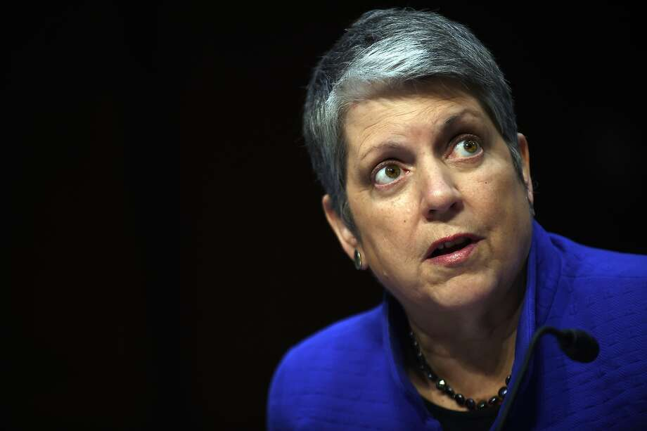 Janet Napolitano, UC presi dent, is not blamed for the survey tampering. Photo: Astrid Riecken, Getty Images