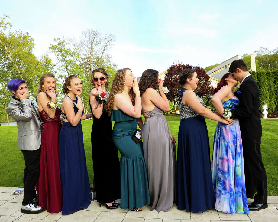 Monroe's Masuk High School held its senior prom at The Waterview in Monroe on May 12, 2017. The senior class graduates on June 21. Were you SEEN at the prom? Photo: Francesca Andre