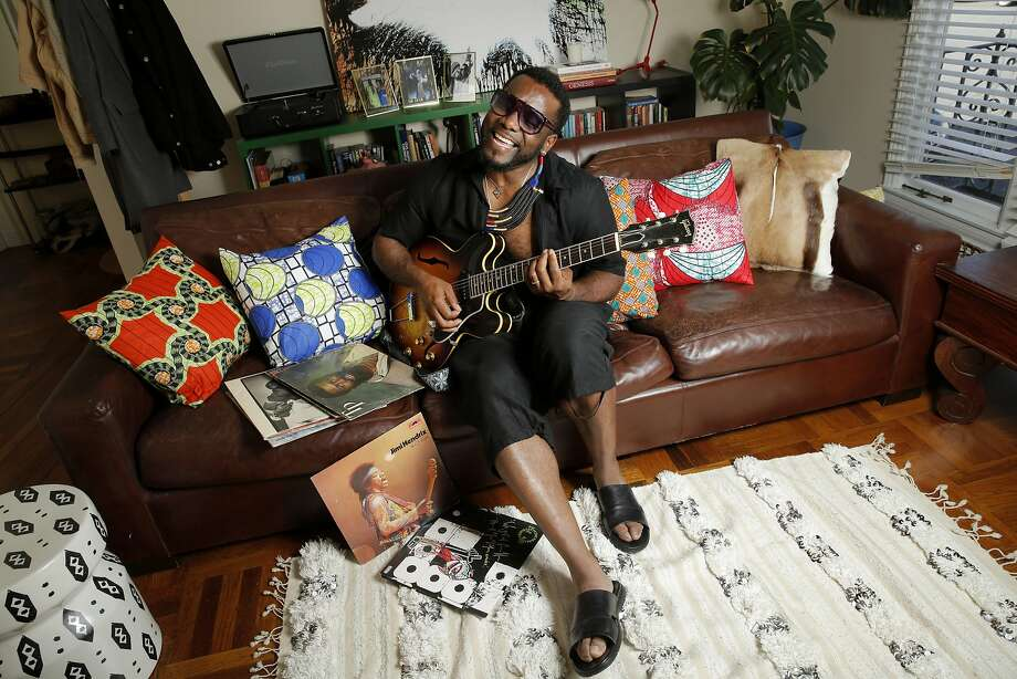 Martin Luther McCoy performs during a portrait session at his home on Friday, May 12, 2017, in San Francisco, Calif. He is scheduled to perform a tribute to Otis Redding at SFJAZZ Center on June 10, 2017. Photo: Santiago Mejia, The Chronicle