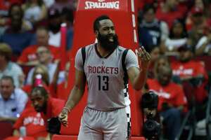 Despite a lackluster performance in Game 6 against the Spurs, Rockets guard James Harden was defended by his coach, general manager and teammates.
