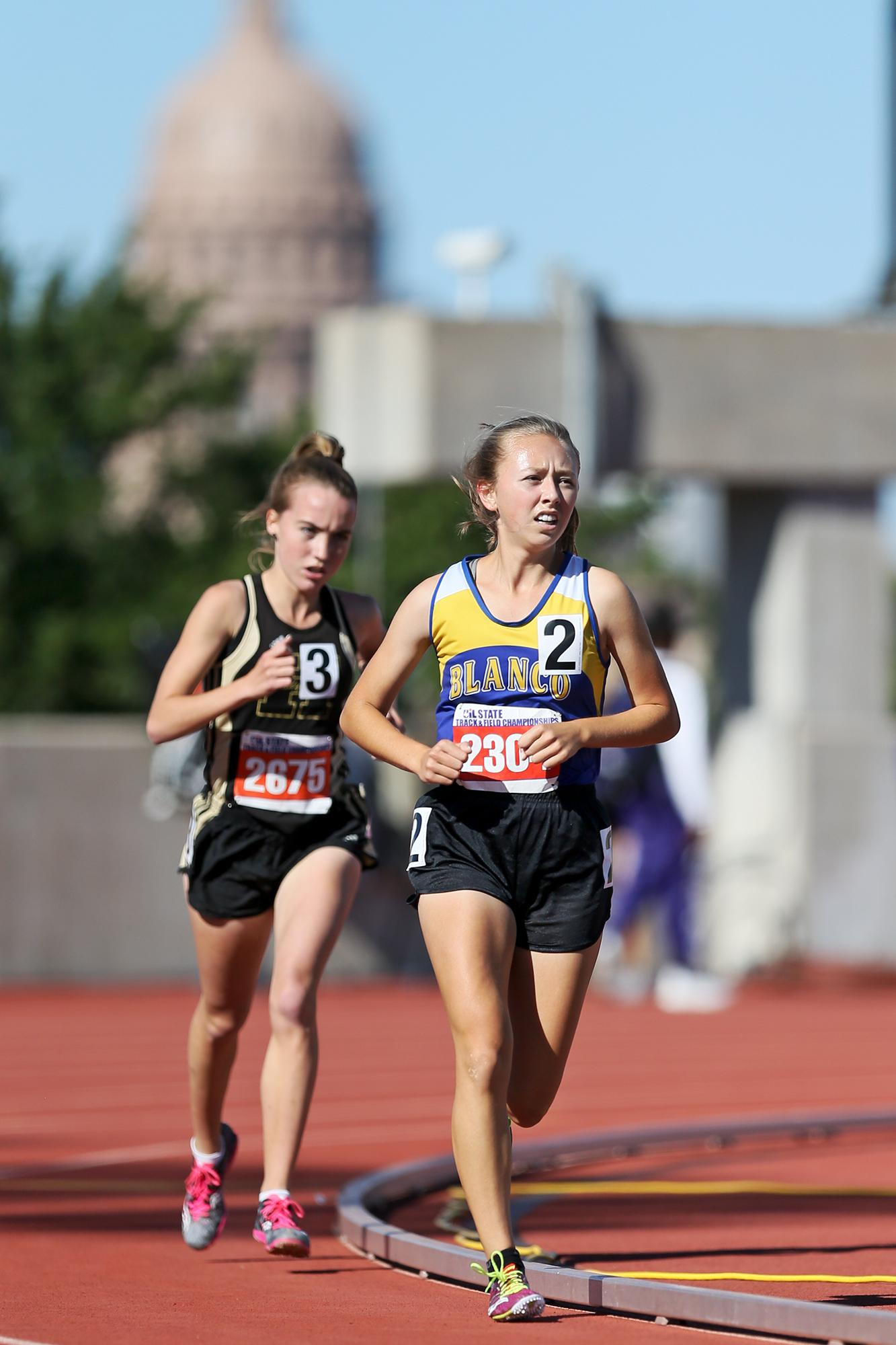 Patience Leads Blanco Sophomore To State Gold San
