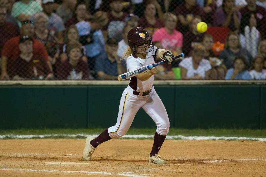 Deer Park's softball team advanced to the regional finals with a 6-2 win in the decisive game of a playoff series against Cypress Ranch. Photo: Juan DeLeon/For The Chronicle