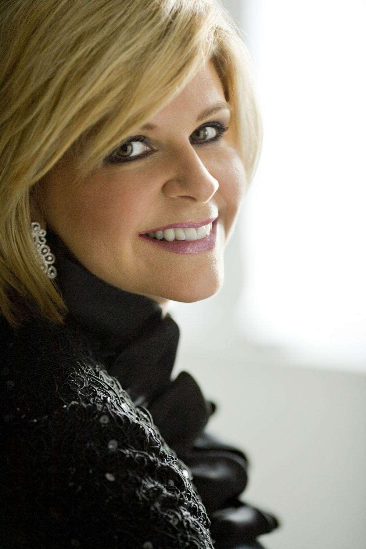 "Mezzo-soprano Susan Graham performed Friday night for the San Antonio Symphony concert, ""An American in Paris."""