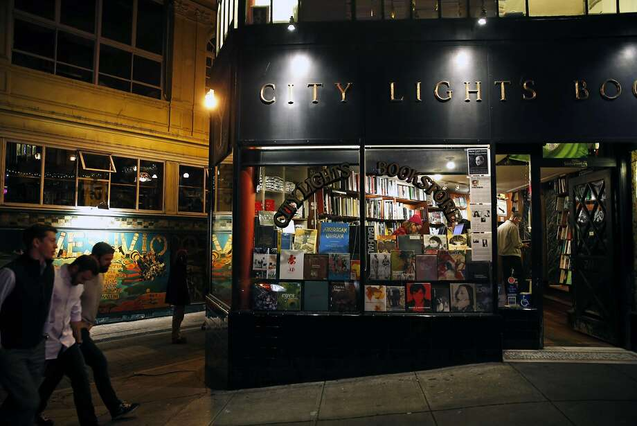 North Beach's City Lights bookstore is going strong. Photo: Scott Strazzante, The Chronicle