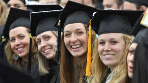 Hudson Valley Community College graduation on Satruday, May 13, 2017, at HVCC's Bruno Stadium in Troy, N.Y. (Provided by HVCC)