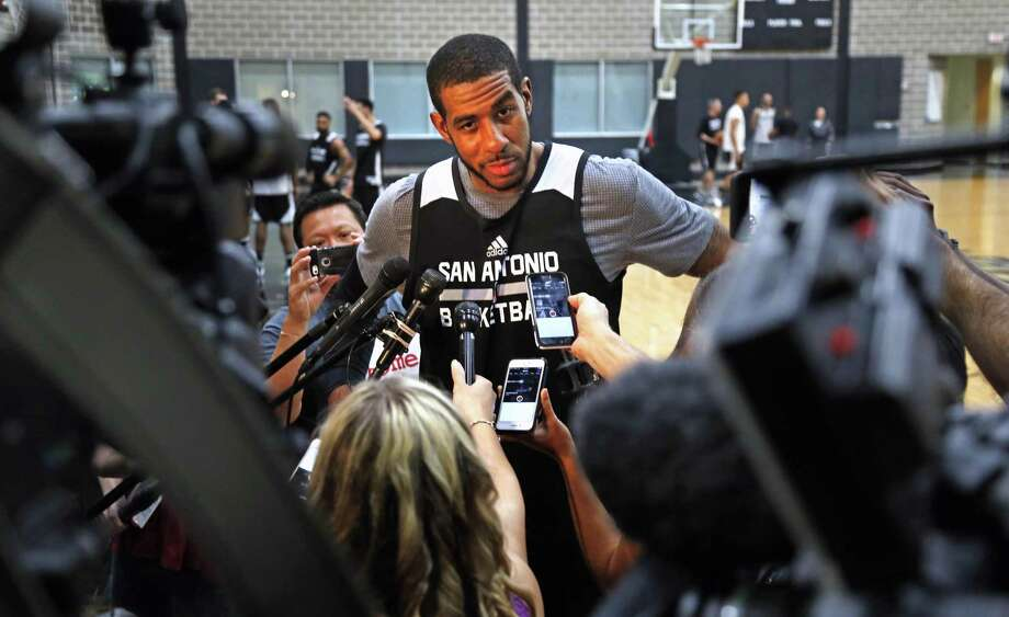 While other teams made big moves over the last two offseasons, the Spurs looked equipped with cap space in 2018 when few other teams would have room. But then big extensions with Pau Gasol and LaMarcus Aldridge followed, showing the team's path to cap space will be much trickier.Click through the slideshow to view how Spurs fans reacted to news of LaMarcus Aldridge's contract extension. Photo: Ron Cortes, Freelance / For The San Antonio Express-News / Ronald Cortes / Freelance