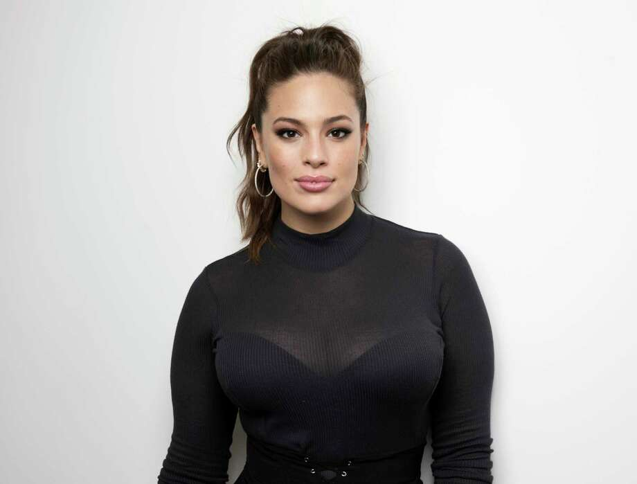 """In this May 9, 2017 photo, model and author Ashley Graham poses for a portrait in New York to promote her book, """"A New Model: What Confidence, Beauty, and Power Really Look Like."""" (Photo by Taylor Jewell/Invision/AP) Photo: Taylor Jewell, INVL / 2017 Invision"""