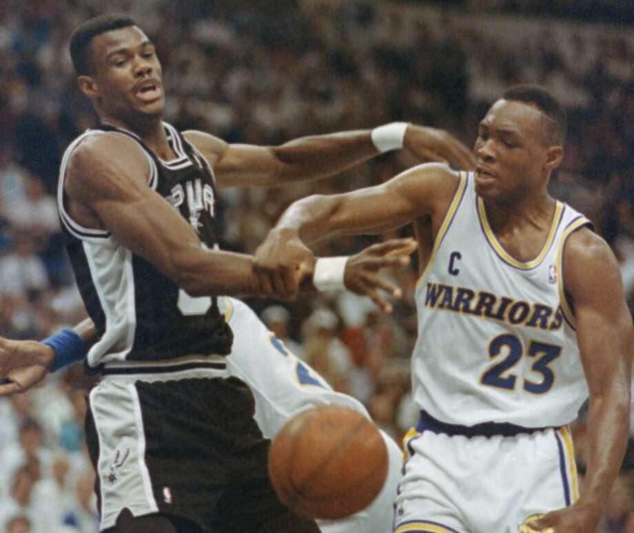 Explain how the Chris Webber trade was a disaster, but it was the Mitch Richmond deal that really broke your heart.  Photo: Olga Shalygin / ASSOCIATED PRESS / AP1991