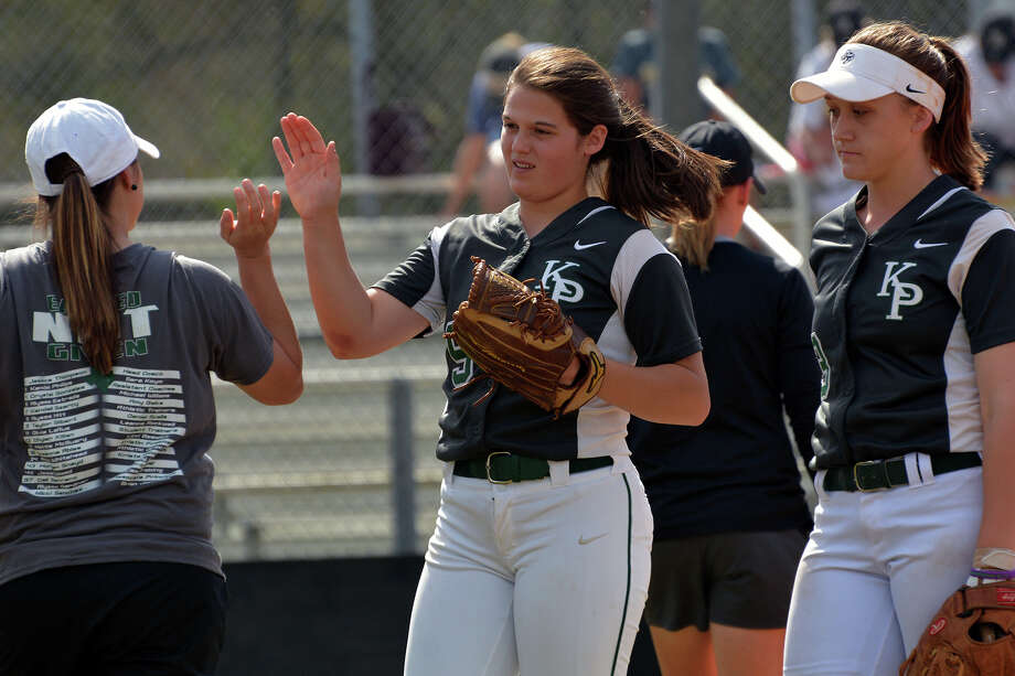 Ronni Grofman allowed only two hits in Kingwood Park's Game 3 win over Crosby. Photo: Jerry Baker/For The Chronicle