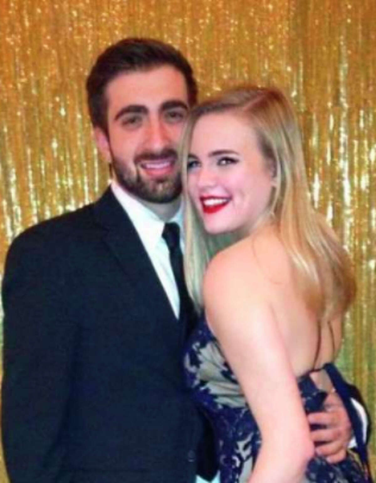 Mark Tartaglio and Corina Burnett were struck by a suspected drunken driver while walking on campus.