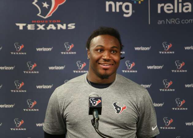 Texans sign rookie running back D'Onta Foreman