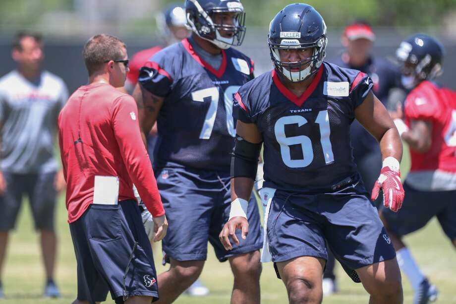 Kyle Fuller runs through drills during Texans rookie camp at NRG practice field   Saturday, May 13, 2017, in Houston. ( Steve Gonzales  / Houston Chronicle ) Photo: Steve Gonzales/Houston Chronicle