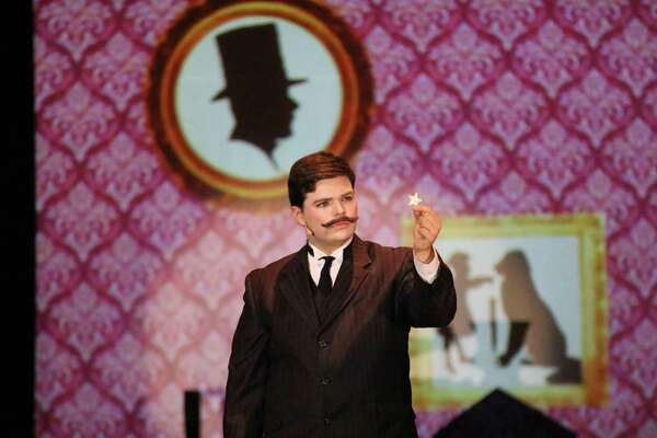 "Scenes from Voorheesville High School's production of ""Mary Poppins."""