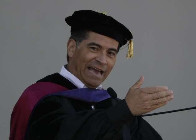 Attorney General Becerra urges Cal grads to fight for change