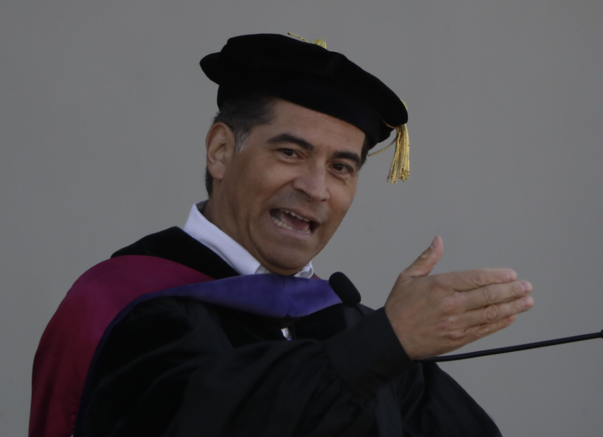 Attorney General Becerra urges Cal grads to fight for change - San Francisco Chronicle