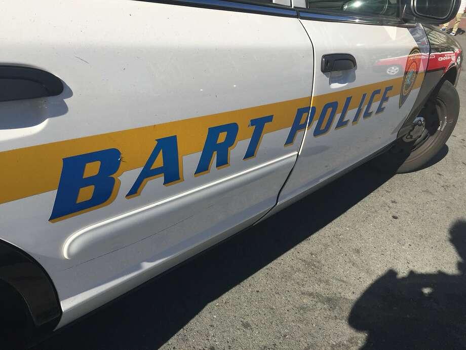 BART trains into San Francisco delayed due to police activity. Photo: Bill Hutchinson