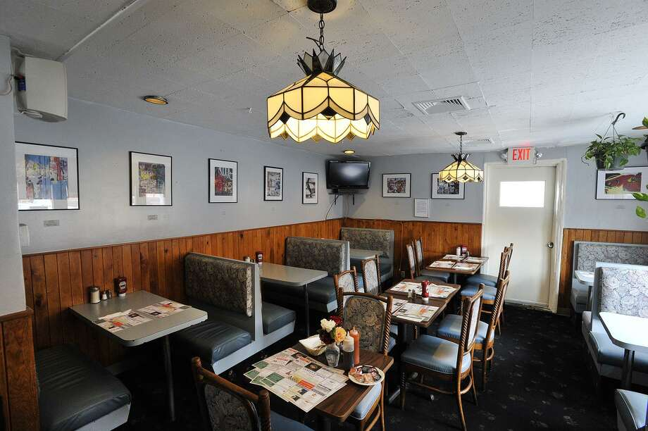 Inside Curley's diner in downtown Stamford. Photo: Jason Rearick / Hearst Connecticut Media File Photo / Stamford Advocate