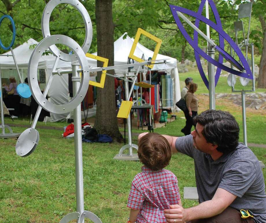 Arts and crafts to impress all ages will be featured at the Bruce Museum's annual outdoor event in Greenwich on Saturday and Sunday, May 20-21. Photo: Bruce Museum / Contributed Photo