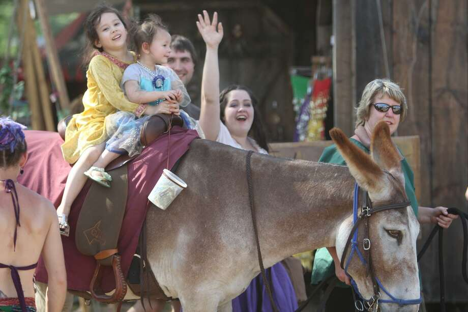 The 2017 Robin Hood's Faire runs weekends, Saturday, May 13, through Memorial Day, Monday, May 29, in North Haven. Photo: Eric Tetreault / Contributed Photo