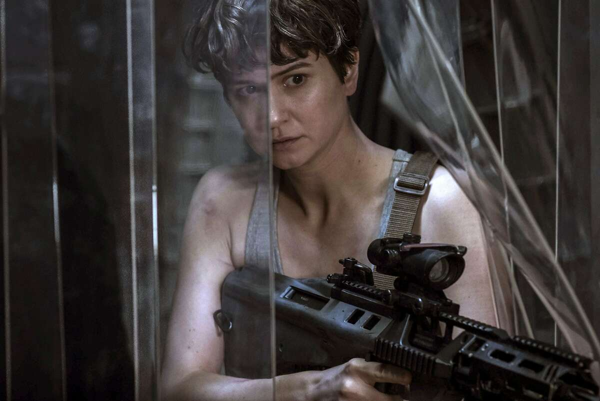 This image released by Twentieth Century Fox shows Katherine Waterston in a scene from