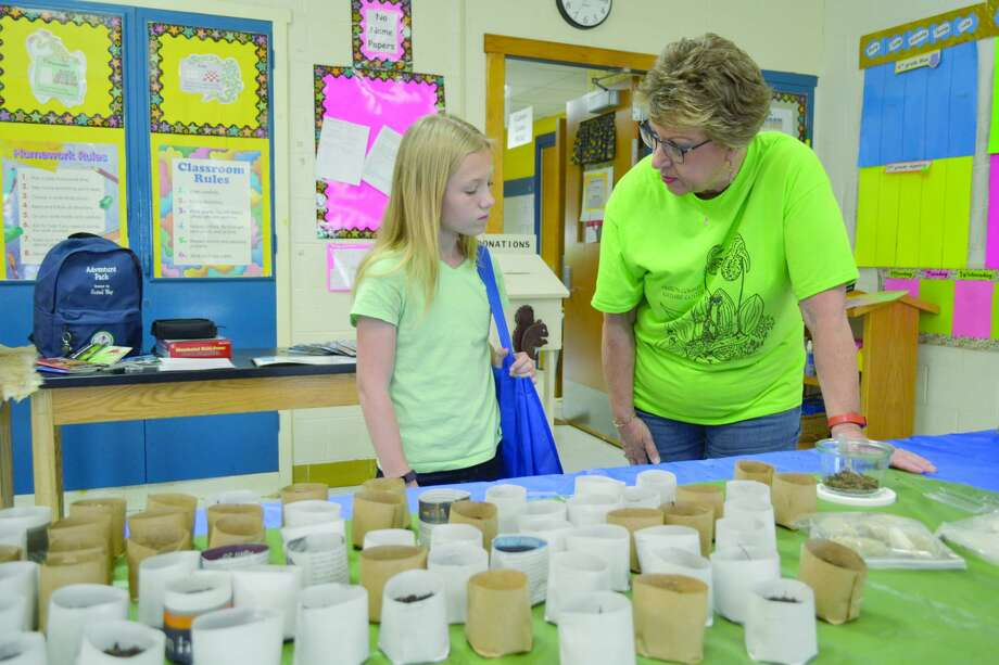 The Thumb Area STEAM Showcase was held Saturday at Bad Axe Middle School. Photo: Casey Johnson/For The Tribune