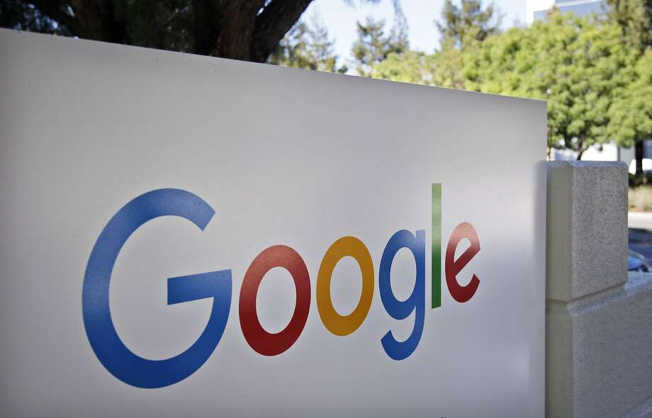 FILE - This Oct. 20, 2015, file photo, shows a sign outside Google headquarters in Mountain View, Calif. (AP Photo/Marcio Jose Sanchez, File) Photo: Marcio Jose Sanchez, Associated Press
