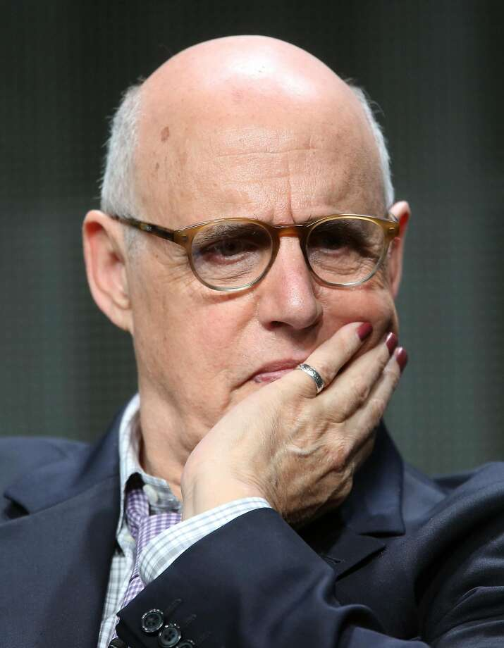 "Jeffrey Tambor on a ""Transpar ent"" panel at a TV critics event. Photo: Frederick M. Brown, Getty Images"