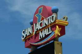 San Jacinto Mall is currently under redevelopment, Thursday, April 27, 2017, in Baytown. A developer is waiting for final approval from the remaining large department stores at the mall to agree to their plan. Most of the remaining retail in the mall has been pushed into a few centralized corridors. (Mark Mulligan / Houston Chronicle)