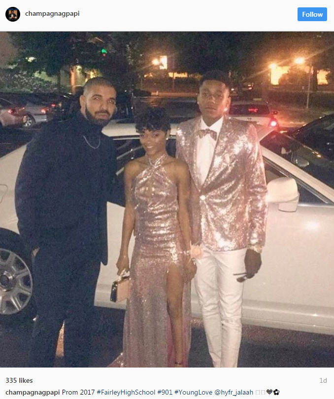 Rapper Drake Chaperones His Cousin And Her Date To Memphis