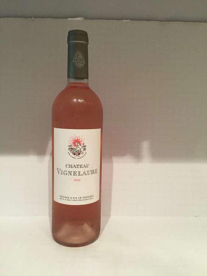 2016 Château Vignelaure Rosé Photo: Dale Robertson