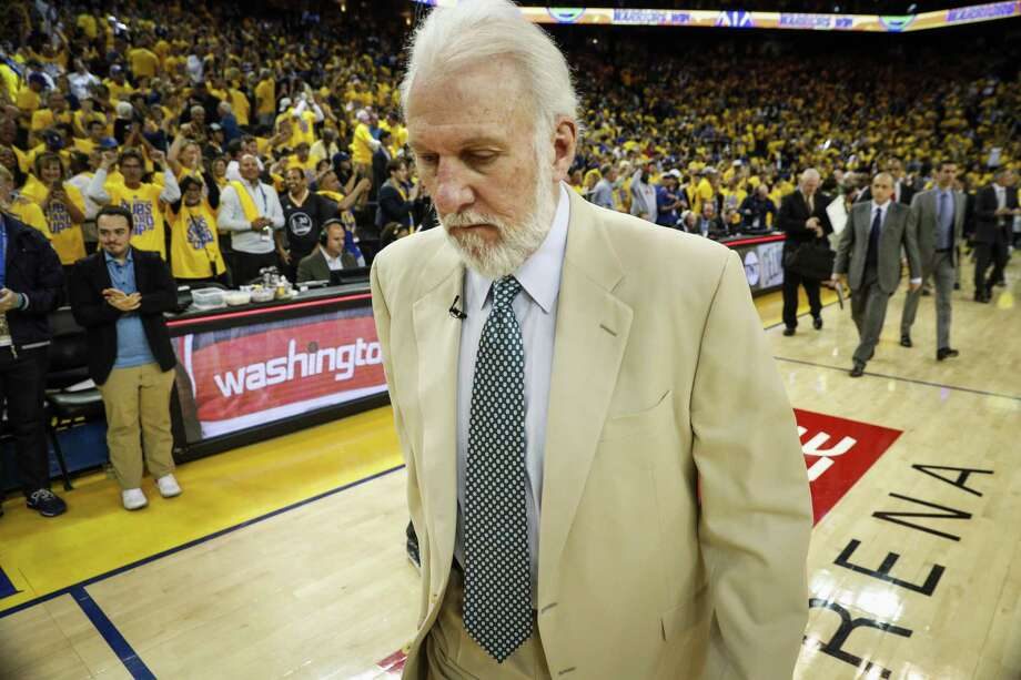 Not many experts are giving the Spurs much of a shot of pulling off an upset against the Golden State Warriors. But what about locally? Express-News sports staff give their predictions. Photo: Carlos Avila Gonzalez /San Francisco Chronicle / online_yes