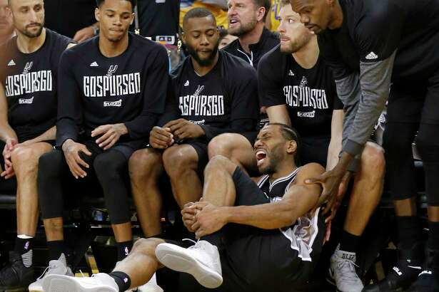 San Antonio star Kawhi Leonard went down with an ankle injury, and his team went down, too, losing to the Golden State Warriors, 113-111, on Sunday. But, for at least one reader, the day was not all gloom.