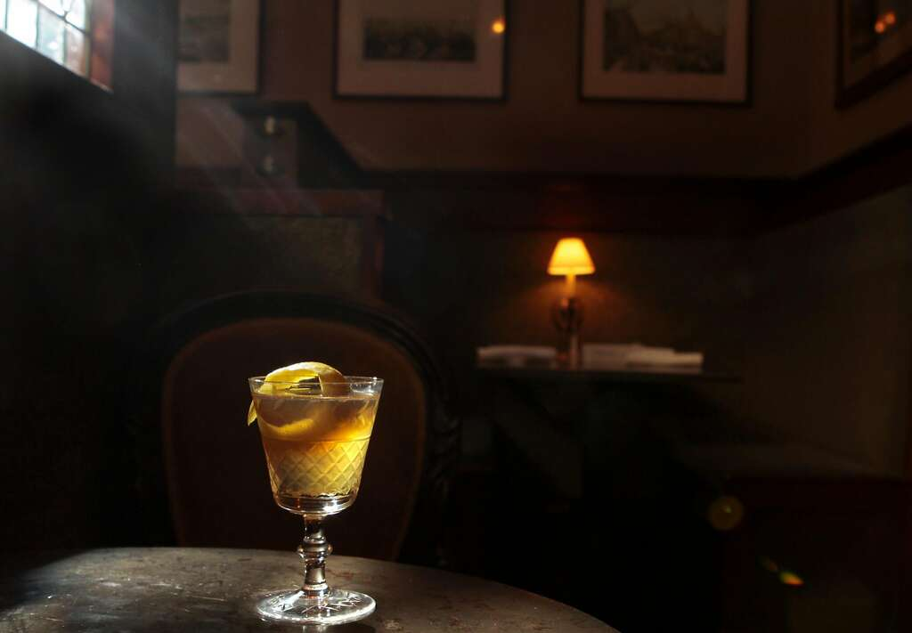 A Whiskey Whimsy at Comstock Saloon in S.F. Photo: John Storey, Special To  The