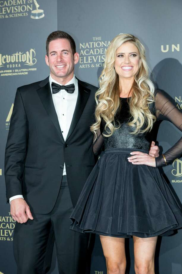 """Flip or Flop""According to reports, a North Carolina man, and ex-employee sued ""Flip or Flop"" stars Christina and Tarek El Moussa for more than $37,000. The plaintiff claims he is owed commissions and back wages of 1,280 hours of work he did for the couple's company Next Level Property. The plaintiff also claimed that the El Moussas blocked his Facebook page, email address and phone number to avoid paying up.  Photo: Greg Doherty/Getty Images"