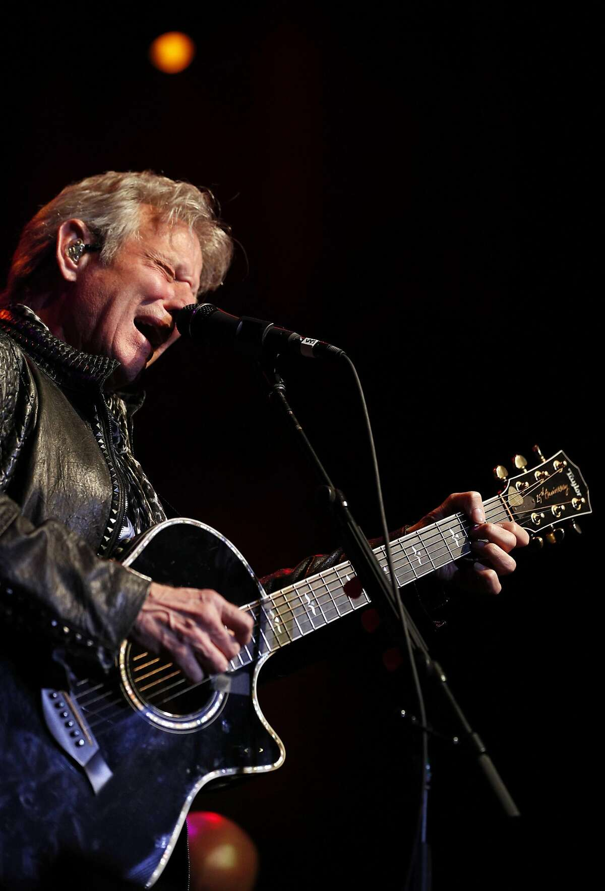 Don Felder performs during Acoustics 4 A Cure at the Fillmore in San Francisco, Calif., on Monday, May 15, 2017. The evening is a concert event created by Sammy Hagar and James Hetfield to help raise funds for the pediatric cancer research being performed at the UCSF Benioff Children's Hospital.