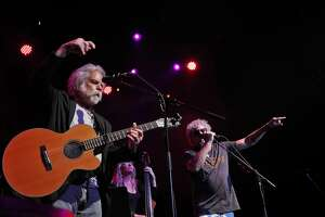 Sammy Hagar performs with Bob Weir during Acoustics 4 A Cure at the Fillmore in San Francisco, Calif., on Monday, May 15, 2017. The evening is a concert event created by Sammy Hagar and James Hatfield to help raise funds for the pediatric cancer research being performed at the UCSF Benioff Children's Hospital.