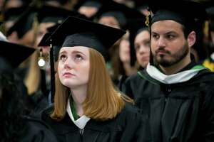 Siena College graduation on Sunday, May 14, 2017 at Times Union Center in Albany, N.Y.