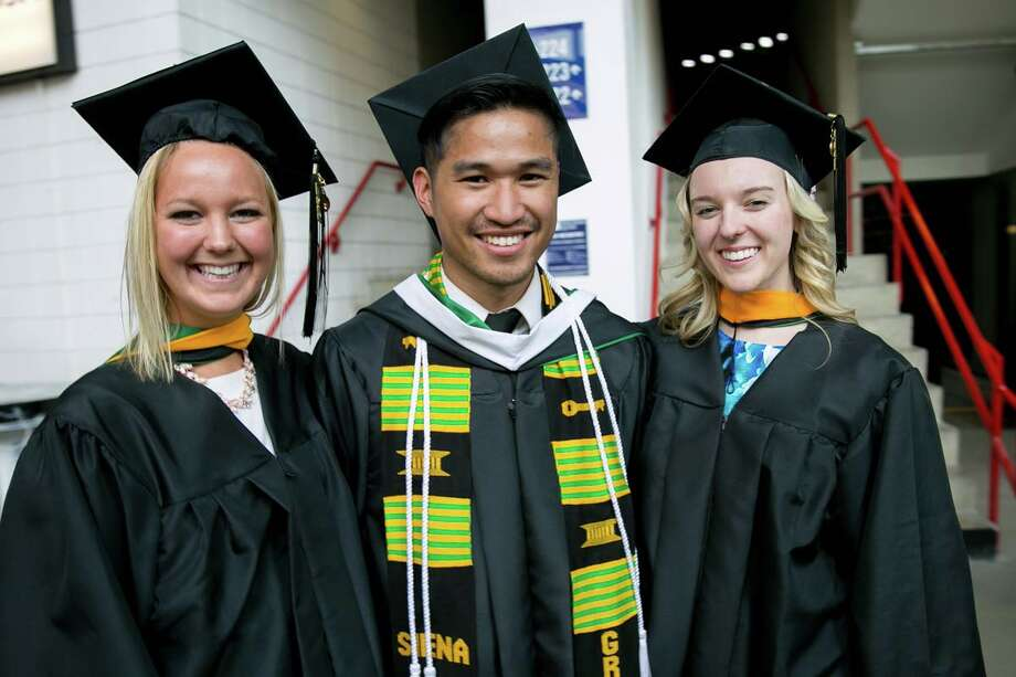 Siena College graduation on Sunday, May 14, 2017 at Times Union Center in Albany, N.Y. Photo: CMichael Hemberger/Photographer, Sergio Sericolo